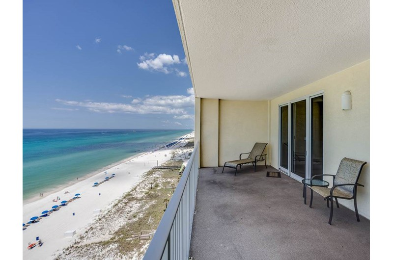 Enjoy the view of the Gulf from Ocean Reef in Panama City Beach Florida