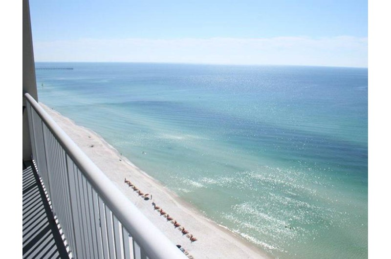 Enjoy a lovely Gulf view from Palazzlo in Panama City Beach Florida