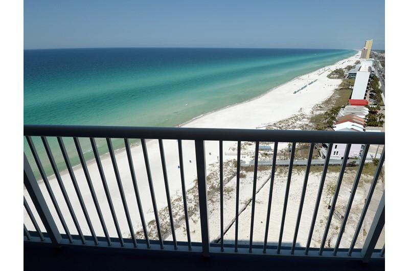 Big coastline view from Palazzo in Panama City Beach Florida