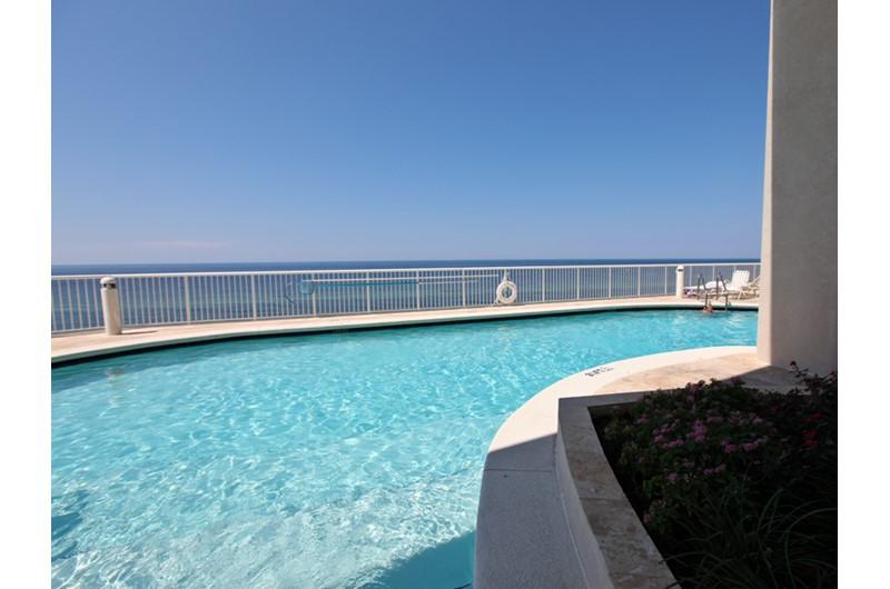 Inviting pool at Palazzo in Panama City Beach Florida