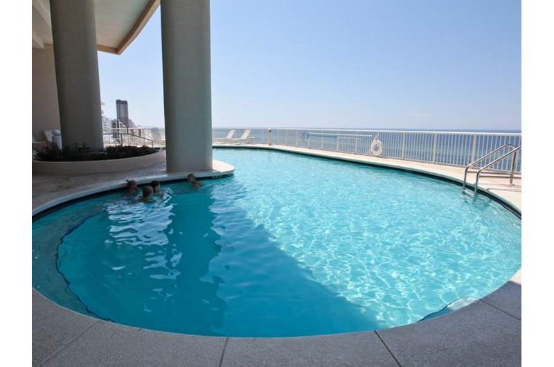 Pool at Palazzo in Panama City Beach Florida