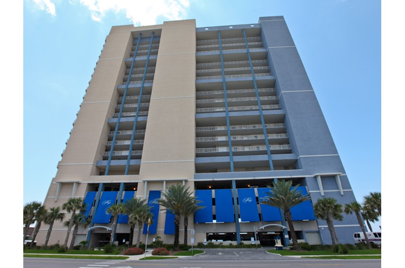 Street view of Palazzo in Panama City Beach Florida