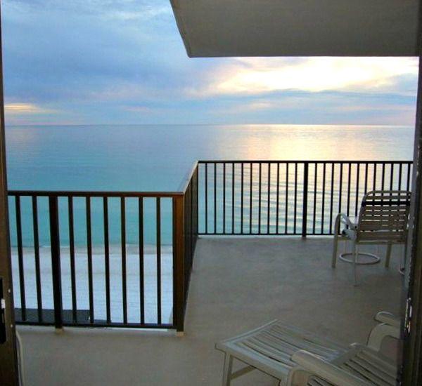 Sunset balcony view at Pelican Walk Panama City