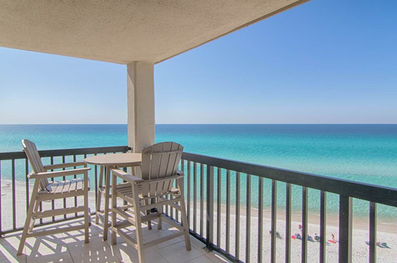 You will have a view of the Gulf from all directions at Pinnacle Port in Panama City Beach FL