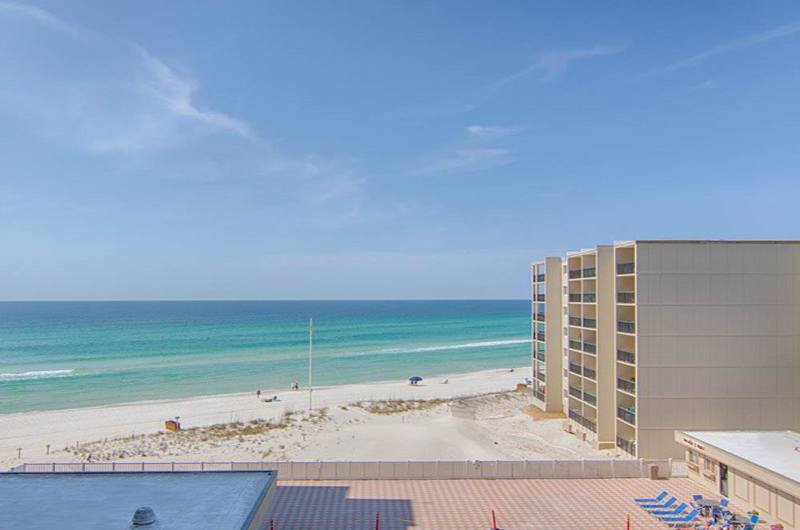 Get a great view of the beach from Pinnacle Port in Panama City Beach FL