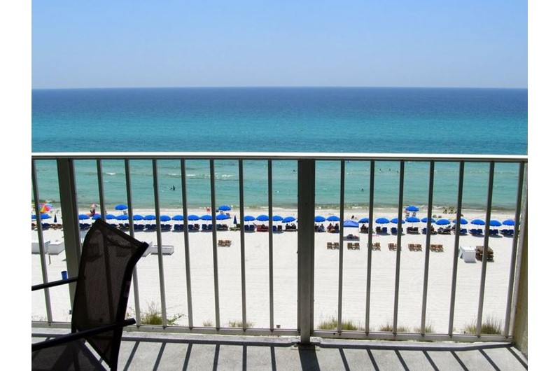 Relax and view the Gulf from Regency Towers in Panama City Beach FL