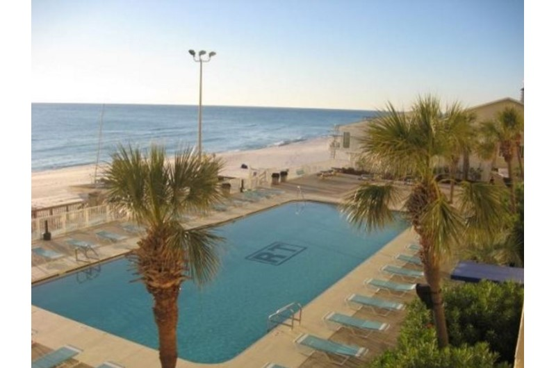 Enjoy a dip in the pool at Regency Towers in Panama City Beach FL