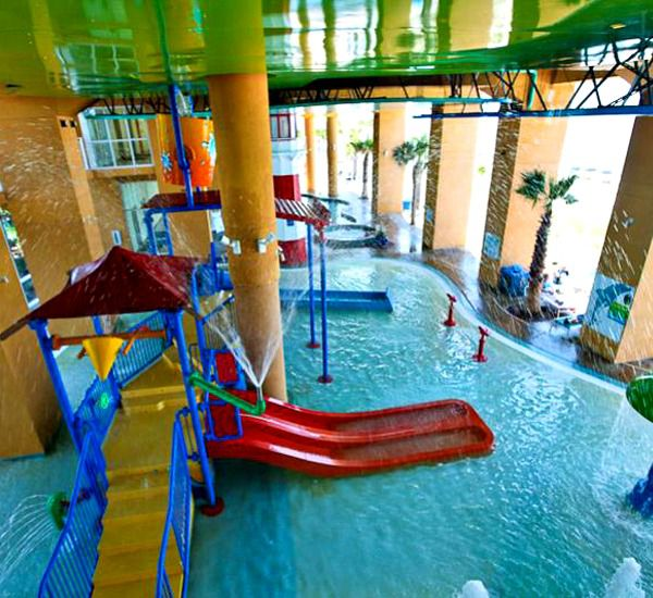 Amazing kids area at SPLASH!  in Panama City Beach Florida