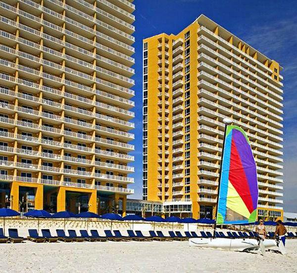 SPLASH!  in Panama City Beach Florida is directly on the beach
