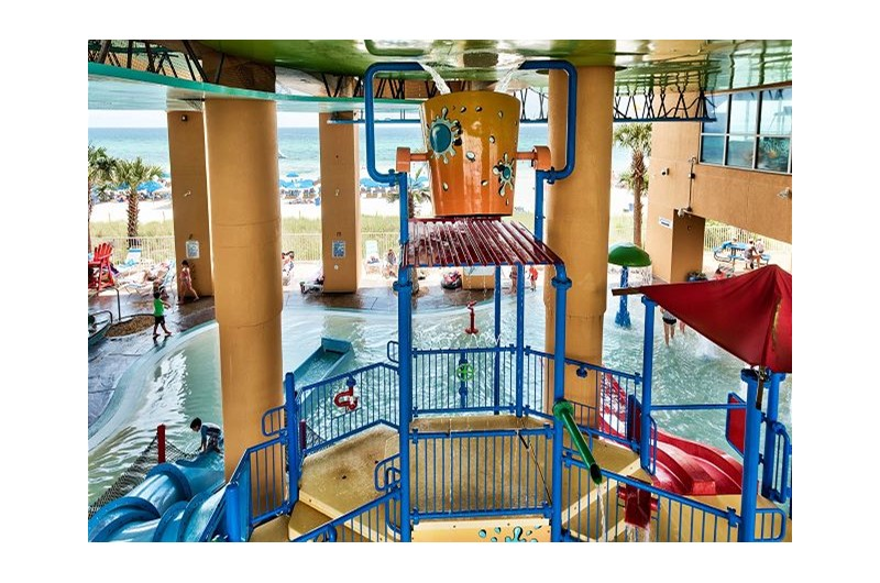 Huge kids area at SPLASH! in Panama City Beach Florida