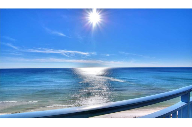 Stunning view from your balcony at Sterling Breeze in Panama City Beach Florida