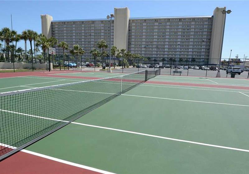 Enjoy a round of tennis at Summit Beach Resort in Panama City Beach Florida