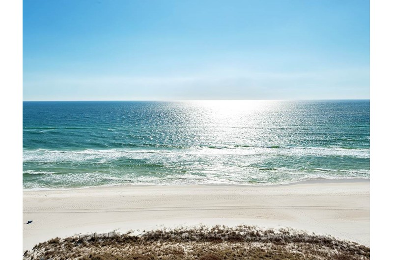 Enjoy a direct view of the Gulf from Sunrise Beach Condominiums  in Panama City Beach Florida