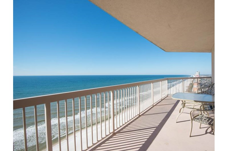 Fabulous view of the Gulf at Sunrise Beach Condominiums  in Panama City Beach Florida