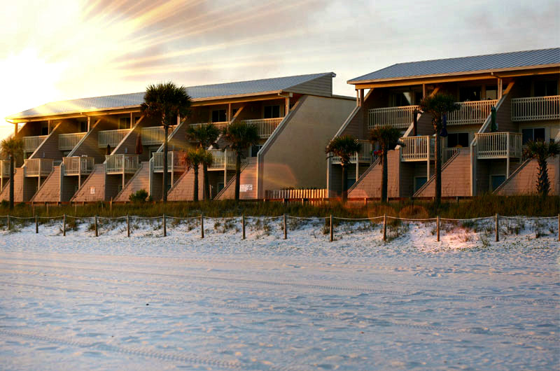 The Ss Panama City Beach Beachfront Townhomes