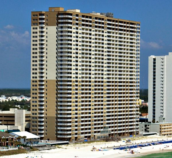 Tidewater Beach Resort   in Panama City Beach Florida
