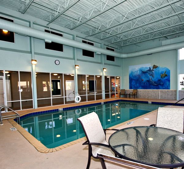 Indoor pool at Tidewater Beach Resort in Panama City Beach Florida