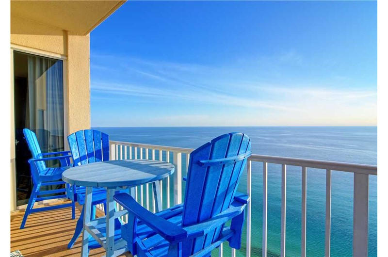 Stunning views of the Gulf from Tidewater Beach Resort in Panama City Beach Florida