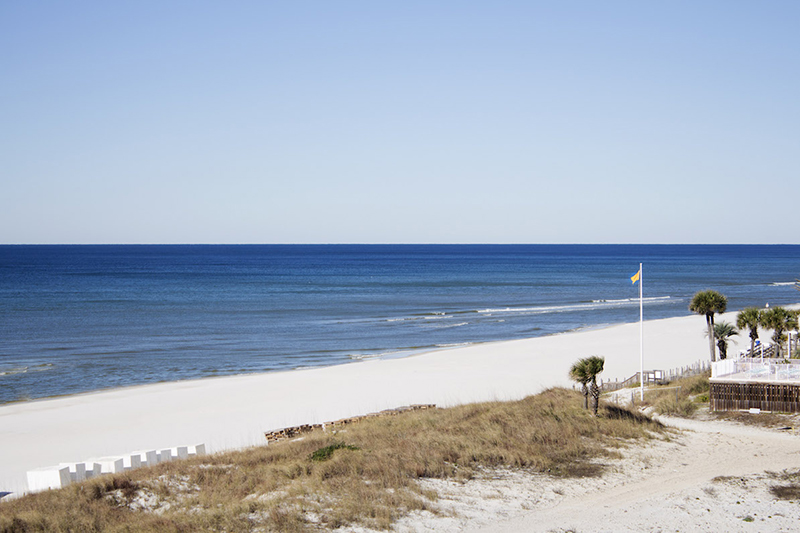 You have miles of beach and water steps from Top of the Gulf in Panama City Beach FL