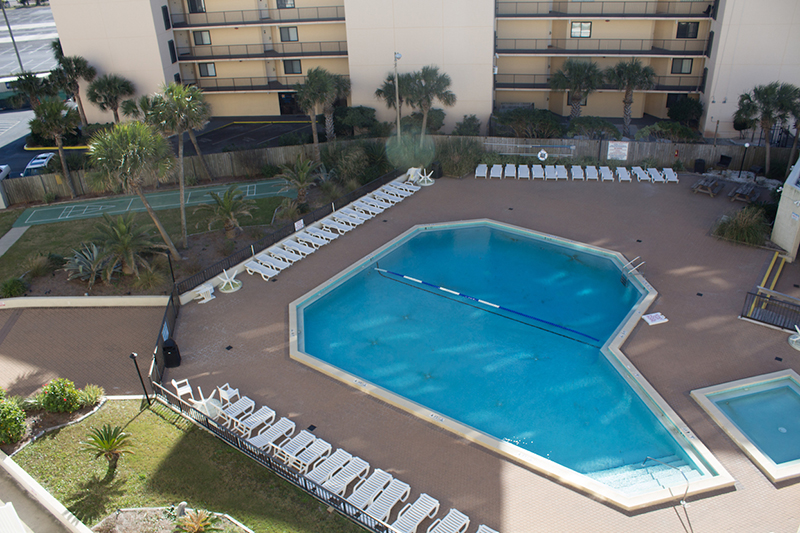 Great pool to relax in at Top of the Gulf in Panama City Beach FL