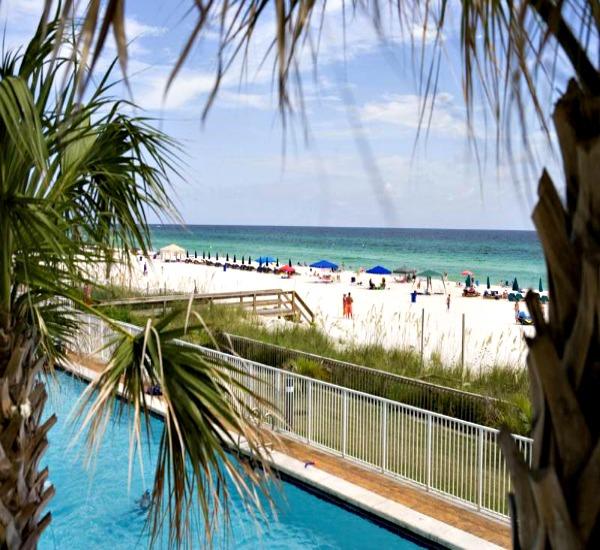 Twin Palms Panama City Beach Florida Beachfront Condo