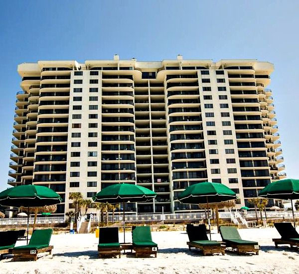 Watercrest Condominium in Panama City Beach Florida is directly on the beach