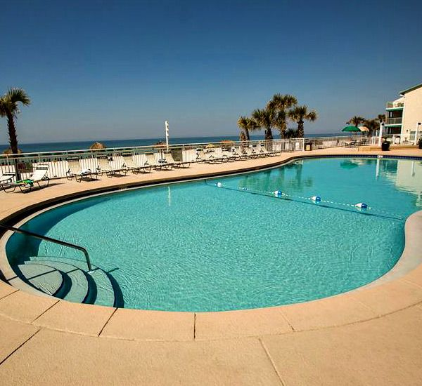 Huge pool at Watercrest Condominium in Panama City Beach Florida