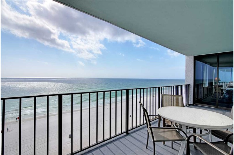 See down the coast from Watercrest Condominiums in Panama City Beach Florida