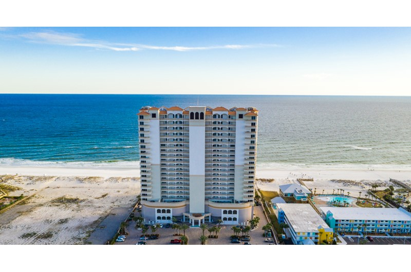 Beach Club Resort and Spa in Pensacola Beach FL is a gorgeous property directly beach front.