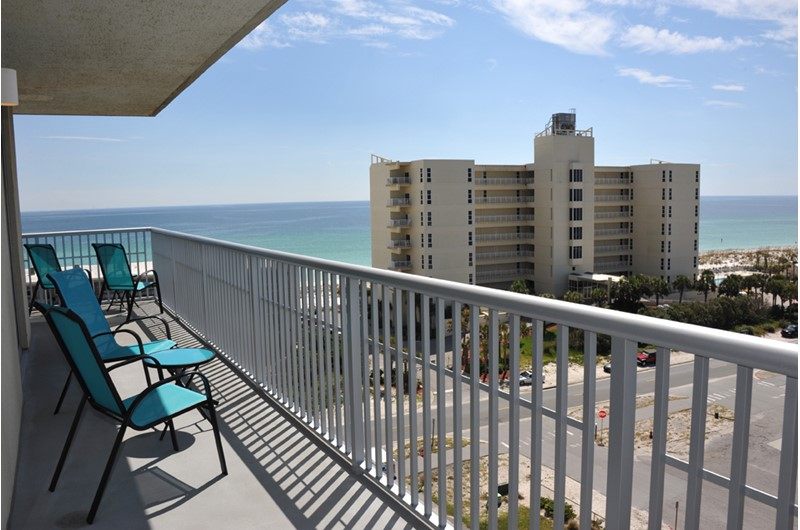 Lovely views of the Gulf from Emerald Dolphin in Pensacola Beach Florida
