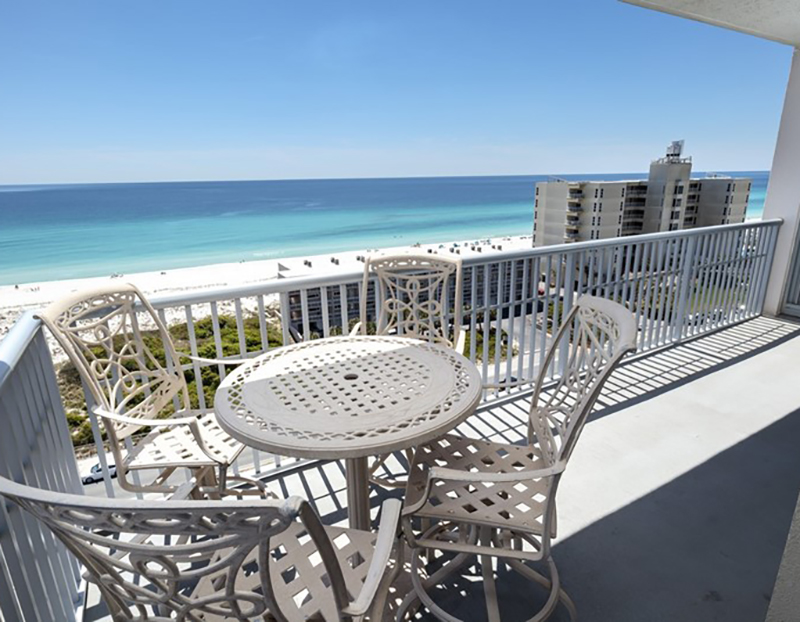 Gorgeous view from Emerald Dolphin in Pensacola Beach Florida