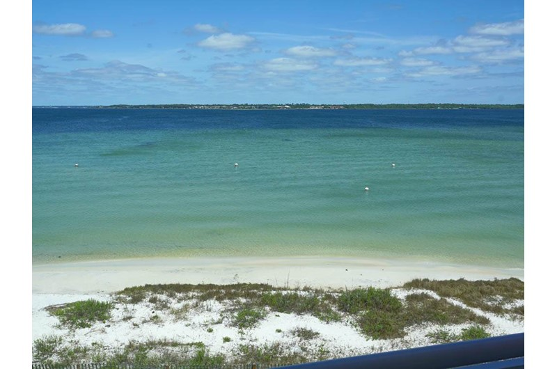 Lovely water view from Palm Beach Club in Pensacola FL