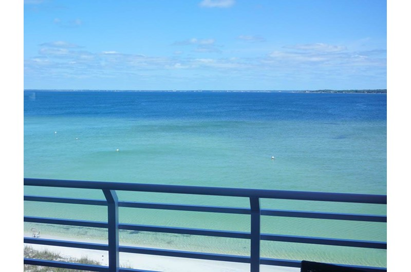 Fabulous water views from Palm Beach Club Pensacola FL