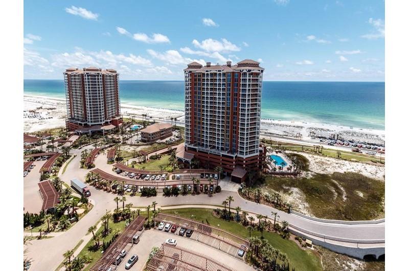 Portofino is Gulf front in Pensacola Beach Florida