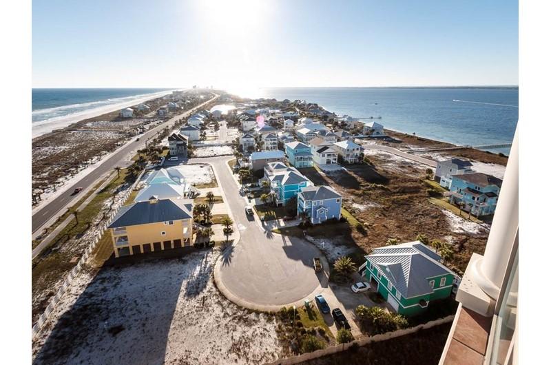 Lovely view from Portofino in Pensacola Beach Florida