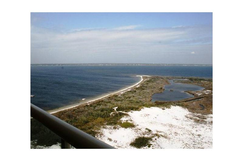 Huge view from Portofino in Pensacola Beach Florida