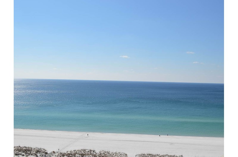 Direct view of the Gulf from Portofino in Pensacola Beach Florida