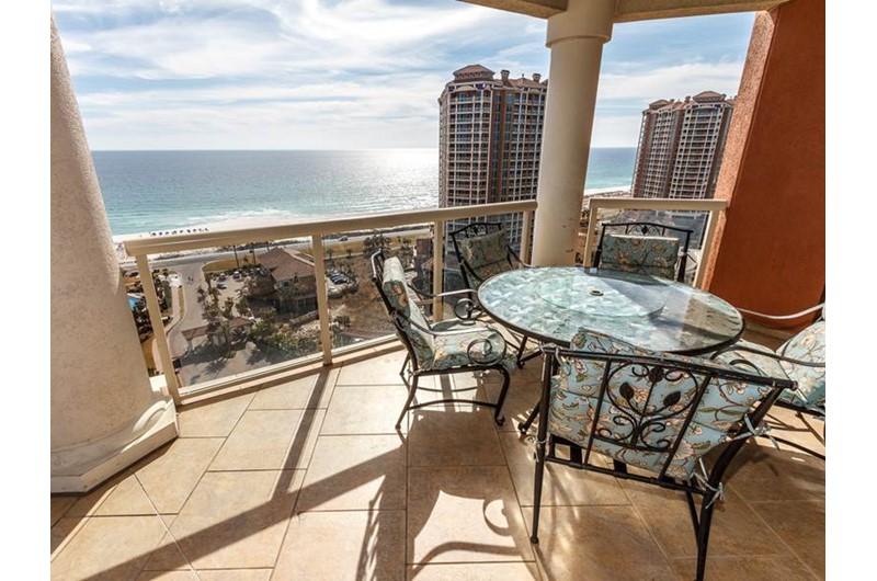 Nice view of the Gulf from Portofino in Pensacola Beach Florida