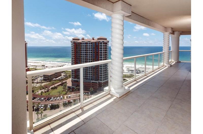 Enjoy sweeping views from Portofino in Pensacola Beach Florida
