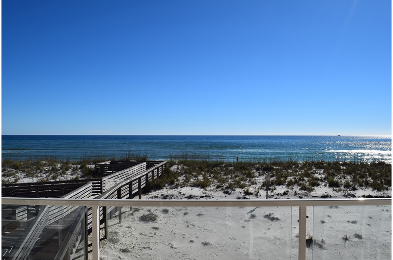 Gorgeous water view from Regency Cabanas in Pensacola Beach Florida