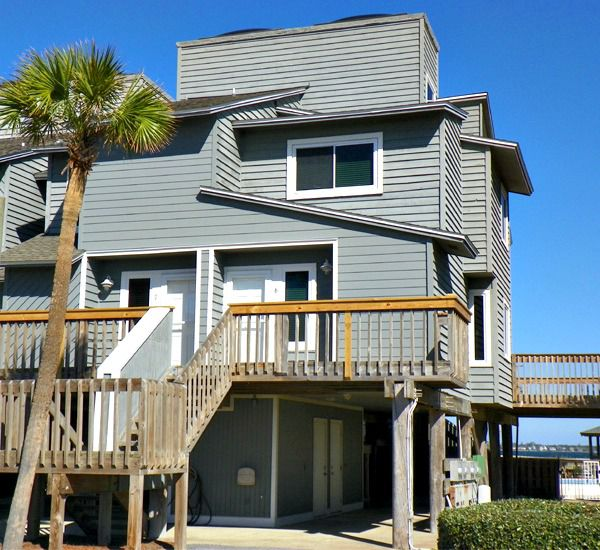 Townhouse unit at Regency Cabanas in Pensacola Beach FloridaSan DeLuna Townhomes in Pensacola Beach Florida