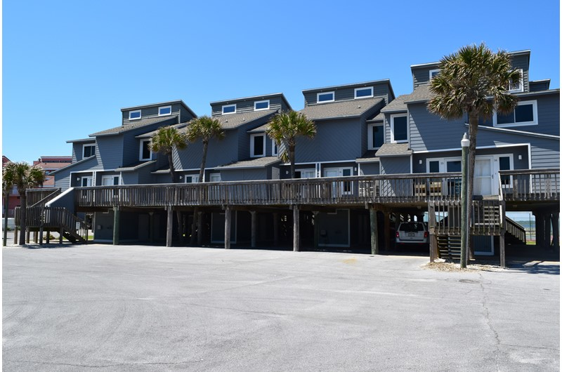 Regency Cabanas in Pensacola Beach Florida is beachfront