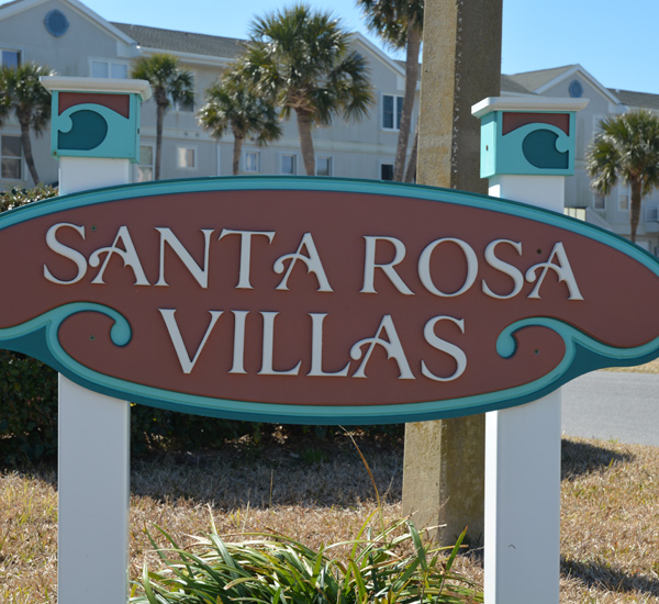 Santa Rosa Village Townhomes in Pensacola Beach FL