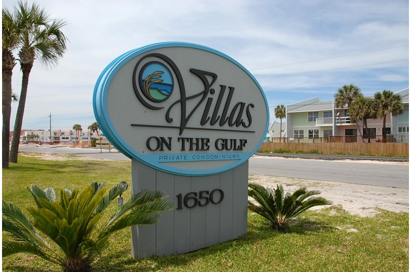 Villas on the Gulf in Pensacola Beach Florida