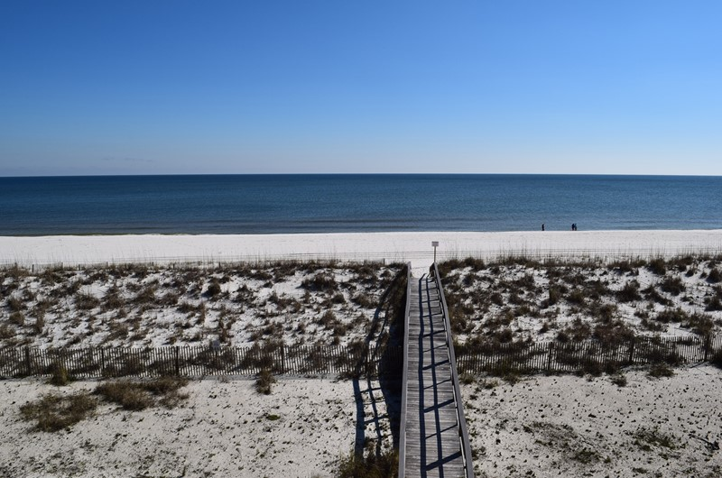 Direct Gulf view from White Sands in Pensacola Florida