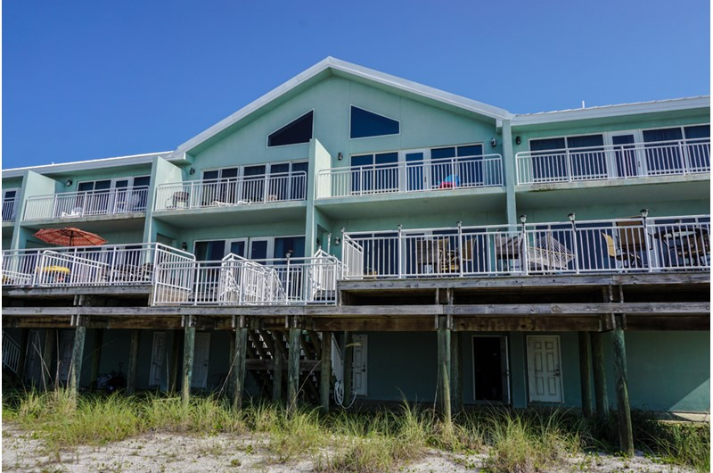 White Sands in Pensacola Florida is directly beach front