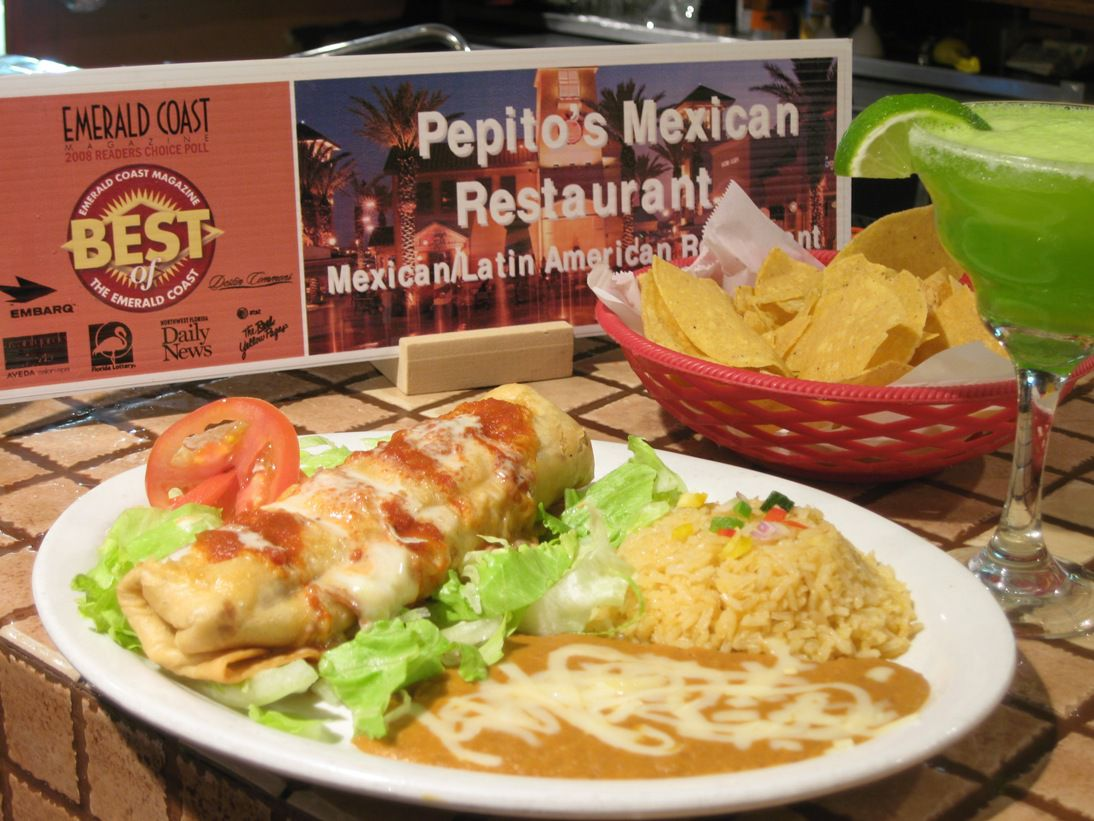 Pepitos Mexican Restaurant In Destin Florida