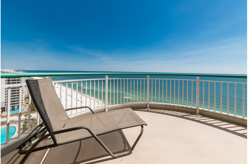 An amazing view from your balcony at Beach Colony in Perdido Key FL