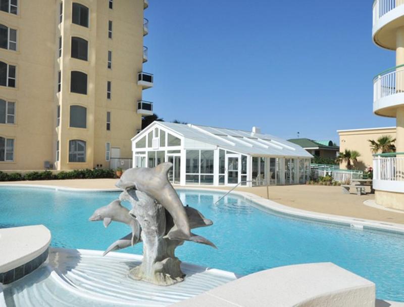 Stunning pool at Beach Colony in Perdido Key FL