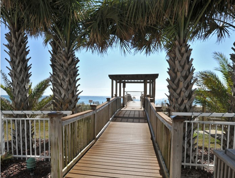 You have easy access to the beach from Beach Colony in Perdido Key FL